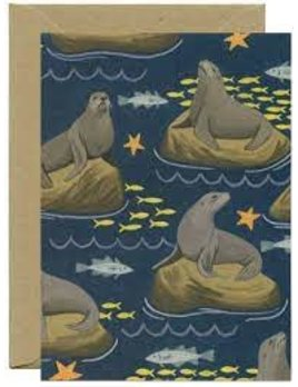 Sea Lion Everyday Card and Envelope