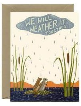 Weather It Together Card and Envelope