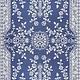 Garland Blue White