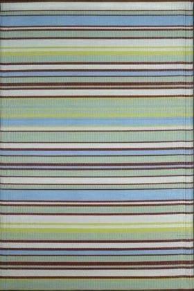 Stripes Grey Aqua