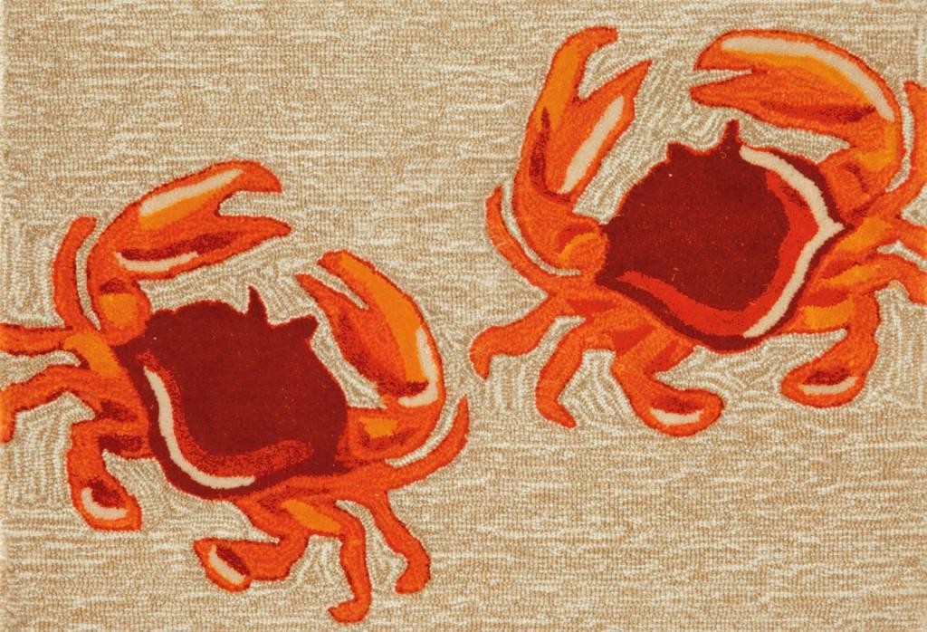 Natural Crabs Rug