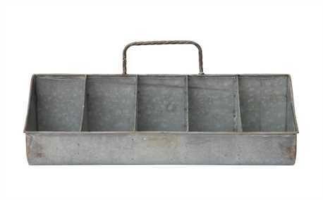 20x10 Tin Organizer