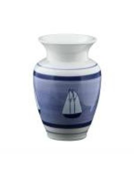 Coastal Stripe Vase
