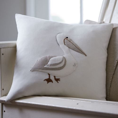 Pelican Porch Pillow 21x21
