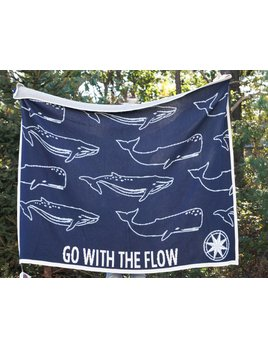 """Go With The Flow"" Whale Throw"