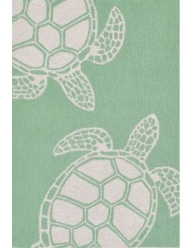 Green Turtle Capri Rug 24x36