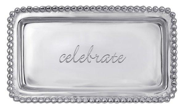 Celebrate Beaded Tray