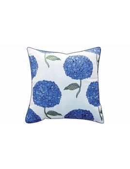 Hydrangea Pattern Sunbrella Pillow