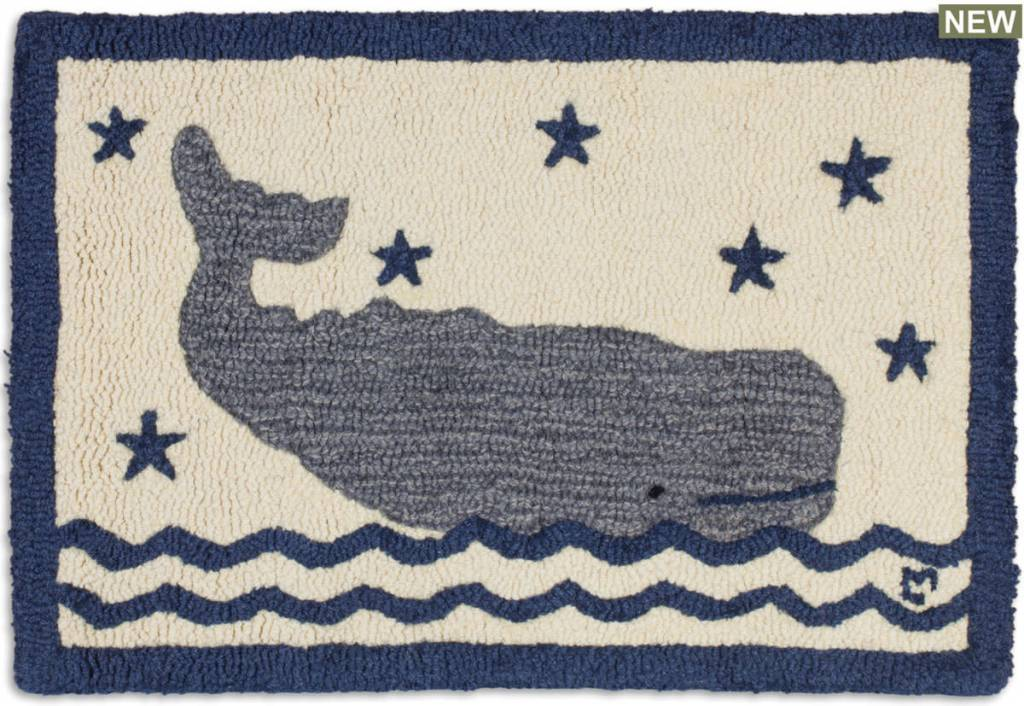 Whale In Water 20x30 Rug