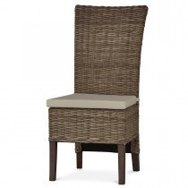 Aries Collection Rattan Dining Chair