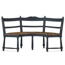 Provence Farmhouse Bench Round OCB