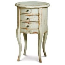 Provence Drum Lamp Table Small
