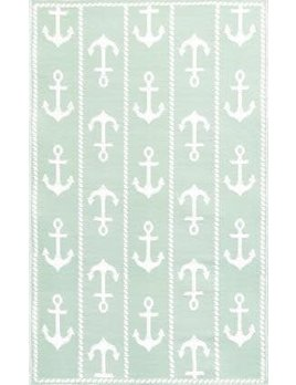 Anchor White Aqua