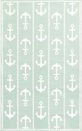 Anchor White Aqua