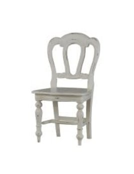 Provence Napoleon Dining Chair Carving on Back
