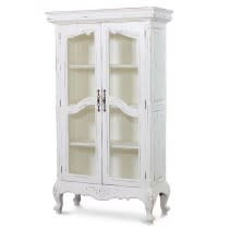 Provence Chateau Bookcase Glass