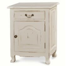 Provence Nightstand Cabinet Large Drawer