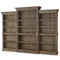 Roosevelt 3 French hens Open Bookcase