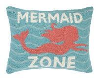 Mermaid Zone Pillow 14x18