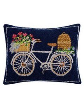 Spring Bee Bike Pillow 16x20
