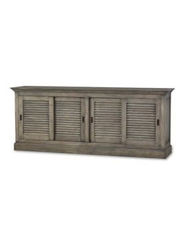 Cottage Collection  Shutter Console Sliding Door
