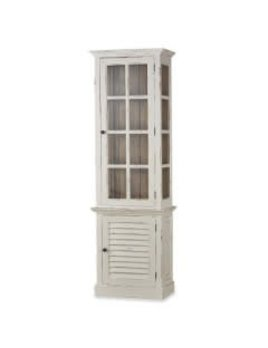 Cottage Tall Cabinet with Glass OCB