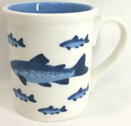 Mug Blue Fish