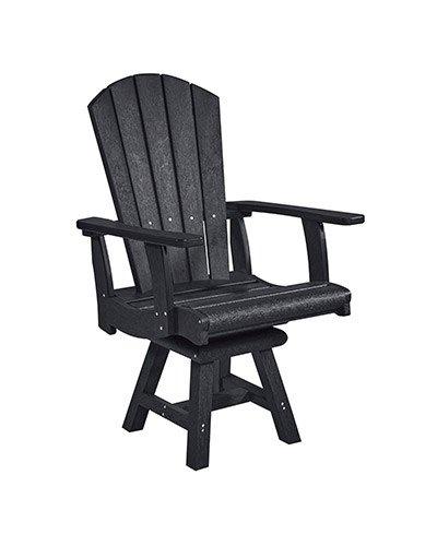 Addy Swivel Dining Arm Chair