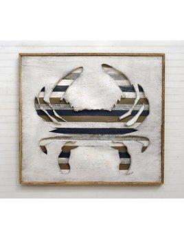 Crab Pallet Framed