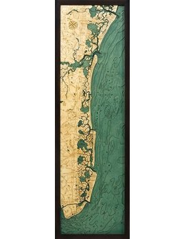 New Jersey South Shore 13.5x43