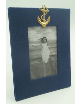 Navy Anchor 4x6 Frame Vertical