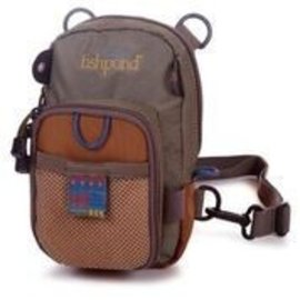 Fishpond Fishpond San Juan Vertical Chest pack - Saddle Brown