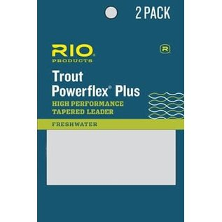 Rio Products Powerflex Plus  12ft Tapered Leader - 2 Pack