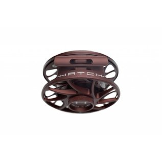 Hatch Outdoors Hatch Finatic Gen 2 Fly Reel - CUSTOM Oxblood 4 Plus Mid Arbor