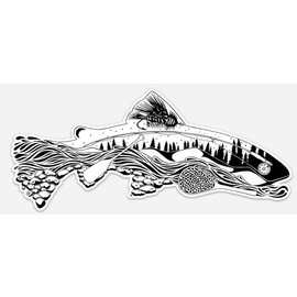 Nate Kerns Sticker-The Remedy-Elements of Fly Fishing Decal