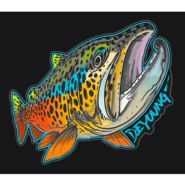 DeYoung DeYoung  Brown Rising – Cutout Decal