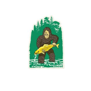 Yakoda Supply Yakoda Bigfoot Sticker