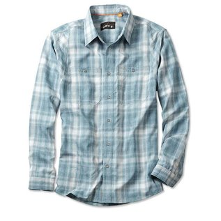 Orvis Orvis Tech Chambray Plaid Work Shirt