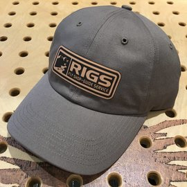 RIGS RIGS Leather Patch Trucker - Solid Driftwood