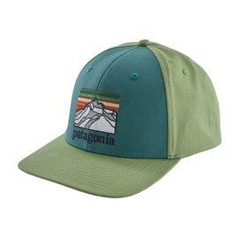 Patagonia Patagonia Line Logo Ridge Roger That Hat - Tasmanian Teal