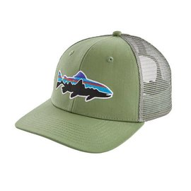 Patagonia Patagonia Kid's Fitz Roy Trout Trucker Hat : Matcha Green
