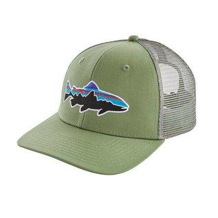 Patagonia Patagonia Fitz Roy Trout Trucker Hat : Matcha Green