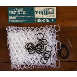 "Fishpond Fishpond 15"" Clear Nomad Replacement Net Kit"