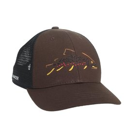 Rep Your Water Rep Your Water - Minimalist Brown Hat - Brown/Black