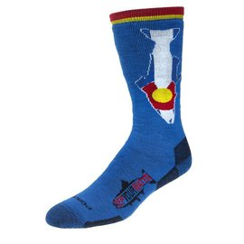 Rep Your Water Rep Your Water Socks - Colorado Flag Trout - Medeum