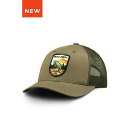 Dead Drift Dead Drift Hat - Trout Rising Trucker