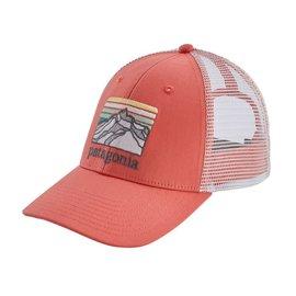 Patagonia Patagonia Line Logo Ridge LoPro Trucker Hat - Spiced Coral