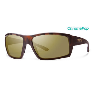 Smith Challis Matte Tortoise - ChromaPop Bronze Mirror