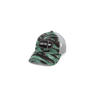 Costa Del Mar Costa Tigger Cammo Trucker - Green