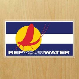 Rep Your Water Rep Your Water Sticker - Mayfly